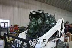 Bobcat T190 T200 T250 T300 T320 1/2 Lexan Porte + Côtés. Chargeuse De Direction