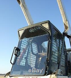 Bobcat T190 T320 Grâce À 1/2 Extreme Lexan Mini Chargeuse Porte Ainsi Que Les Côtés