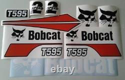 Bobcat T595 Trail Loader Decal Kit Sticker Set Skid Steer M Series W95