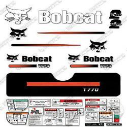 Bobcat T770 Compact Track Loader Decal Kit Skid Steer (straight Stripes)