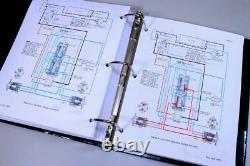 Boîtier 1845 Uni Loader Skid Steer Service Parts Operators Manual Catalog Shop Book