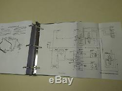 Case 1818 Uni-chargeuse Service Steer Manuel Repair Shop Livre Nouveau Avec Binder