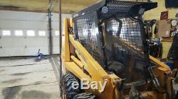 Case 1840 1/2 Lexan Polycarbonate Chargeuse Compacte Et Cab Porte! Poly Tondeuse Broyeuse