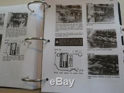 Case 1845 Uni-chargeuse Service Steer Manuel Repair Shop Livre Nouveau Avec Binder