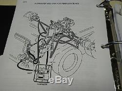 Case 1845c Uni-chargeuse Service Steer Manuel Repair Shop Livre Nouveau Withbinder