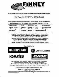Caterpillar Cat Skid Steer Loader Suspension Complete Siège 247 247b + Plus
