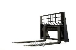 Chargeurs Compacts Forks Eterra Marque Hd Noté Skid Steer Forks 5500 Lb. Évaluation