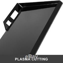 Chargeuse Compacte Rapide Tach Fixation Support De Plaque Et Adaptateur De Conversion Loquet Boîte 3/8