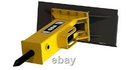Disjoncteur De Roche En Béton Skid Steer Arrowhead R75s Disjoncteur Hydraulique En Béton