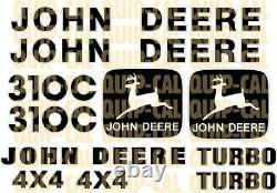 Ensembles Abordables Pour Votre Decal John Deere Bouteurs, Des Chargeuses, Mini Chargeur, Mini Ex