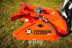 Eterra Typhoon T60-40 Mini Chargeur Brosse Tondeuse Pour Les Machines À 32-40 Gpm