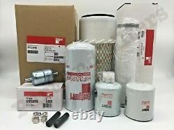 Filtre Kit Complet Pour New Holland Lx465 Lx485 Lx565 Lx665 L465 L565 Ls140 Skid Steer