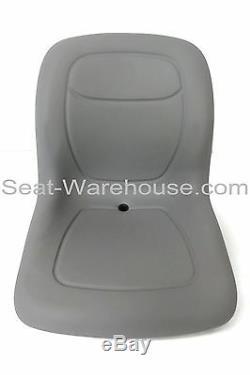 Gris Haut Siège Arrière Avec Toboggan Kit Pour Piste Ford New Holland Mini Chargeuse # Qf