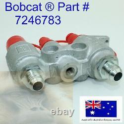 Hydraulic Block Quick Coupler Face Plate Pour Bobcat 863 S130 S150 S160 S175 S185