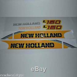 L160 L170 L175 L180 L185 L190 New Holland Mini Chargeur New Repro Autocollant Kit