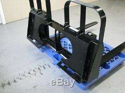 Lb 4.200 Heavy Duty Fourches À Palettes Skid Steer Attacher, Fabriqué Au Canada