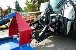 Mini Chargeur Pour Tracteur Accessoires Adaptateur 200cc Haut Débit Moteur Cat 2 Liens