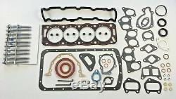 Moteur Complet Joint De Culasse Peugeot Citroen Set Boulons Skidsteer 751 1.9d Xud9 Diesel