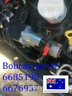 Moteur De Démarrage Pour Bobcat 6685190 6676957 751 753 763 773 A300 A770 S130 S150