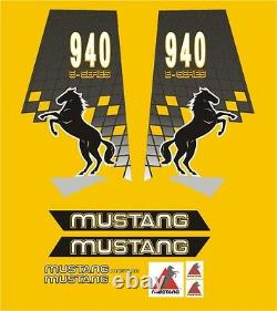 Mustang 940 Chargeuse De Braquage