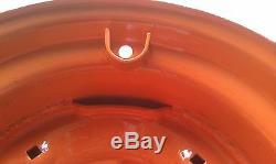 New 16.5x8.25x6 Skid Steer Jante / Roue Bobcat 643 10x16.5 Pneu 10-16.5 6 Jante De Patte