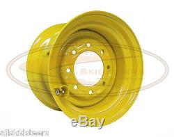 New Holland 9.75x16.5 Skid Steer Jante De Roue Fits Taille Des Pneus 12x16.5 Chargeur Écrou De Roue
