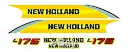 New Holland L175 Mini Chargeuse Decal / Adhésif / Autocollant Ensemble Complet
