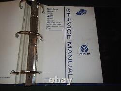 New Holland L565 Lx565 Lx665 Manuel De Service Chargeurs Compacts Repair Livre Oem Boutique