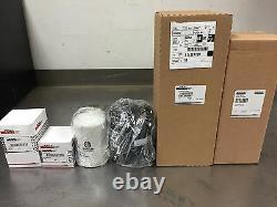 New Holland Skid Steer Filter Set Pour L555 (début) (1981-1993) Perkins 4/108 Dsl