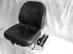 Noir Ou Gris Seat New Holland Ls120, Ls140, Ls150, Ls160, Ls170, Ls180, Ls190 #ol