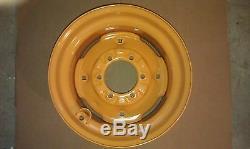 Nouveau 16.5x8.25x6 Skid Steer Roue / Jante Pour Case Convient 10x16.5 Cosse De Pneu 10-16.5 6
