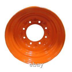 Nouveau 16.5x8.25x8 Skid Steer Wheel/rim For Fits Bobcat Fits 10-16.5 Pneu-10x16.5 8