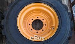 Nouveau 16.5x9.75x8 Skid Steer Rim Case Convient 12x16.5 Pneu 12-16.5 1845c Jante De Cas