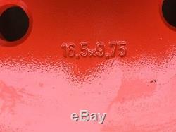 Nouveau 16.5x9.75x8 Skid Steer Roue / Jante Pour Bobcat Convient 12-16.5 -843, 853, 863, 873