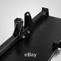 Nouveau 3 Point D'attache Adaptateur Skid Attelage Remorque Steer Chargeur Frontal Bobcat Des