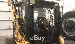 Nouveau Cab Kit De Châssis Pour John Deere 317, 320, 325, 328 Ou 332 Skid Steer