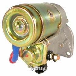 Nouveau Démarreur John Deere Mini Chargeuse 6675 7775 Ym129429-77010 18178 18204