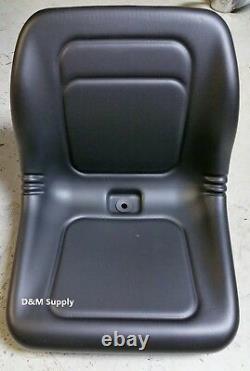 Nouveau Skid Steer Pour S'adapter Kubota Yanmar Lawn Garden Universal Tractor Seat