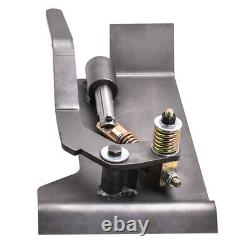 Paire Universal Weld-on Skid Steer Quick Attach Conversion Adaptateur Quick Tach