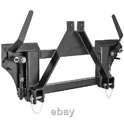 Pièces Jointes 3 Point À Universal Quick Tach Adapter Skid Steer Tractor