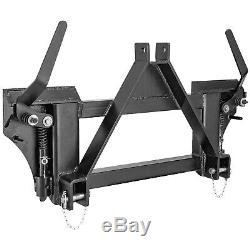 Pièces Jointes 3 Point À Universal Rapide Tach Adaptateur Skid Steer Tracteur