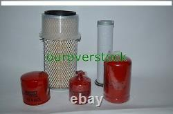 Pour Bobcat Filter Kit 753 763 763 773 Skid Steer Oil Fuel Air (2)
