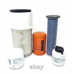 Pour Bobcat Filter Kit S130 S150 S160 S175 S185 S205 Skid Steer Oil Fuel Diesel