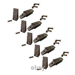 Pour Bobcat Skid Steer Bucket Bolt-on Shank, Dent & Flex Pins & Hardware 6737322y
