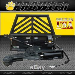 Prowler Hydraulique Rotating Arbre De Cisaillement Skid Steer Fixation 12 Pouces Cut