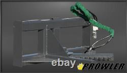 Prowler Tree And Post Puller Skid Steer Attachment, Jusqu'à 6 Arbres Et 8 Poteau
