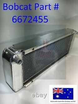 Radiateur Pour Bobcat 6672455 6678820 7009566 7377433 463 553 553f 553af S70