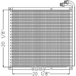 Refroidisseur D'huile Hydraulique A184084 Fits Case Ih Skid Steer Loader 1840 1845c 1835c 183