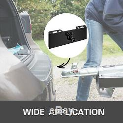Remorque Récepteur D'attelage Fixation Mini Ajustement Mini Chargeur 1 / 4thick Plate Tach Rapide