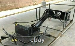 Skid Steer Articulant Radial Arm Bank Ditch Mower King Topcat Bdrc We Ship